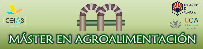 Máster en Agroalimentación